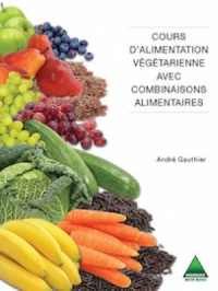 Cours d'alimentation végétarienne avec combinaisons alimentaires