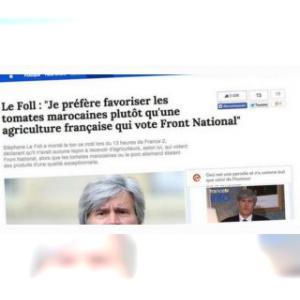 """Faux articles de presse sur Twitter : l'extrême droite s'essaie au """"parodique"""""""